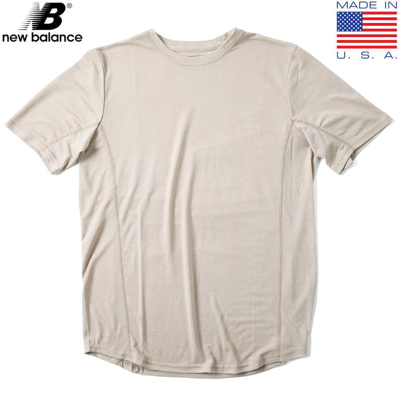 実物 新品 米軍 New Balance AFR701C NBS 7 Tシャツ SAND