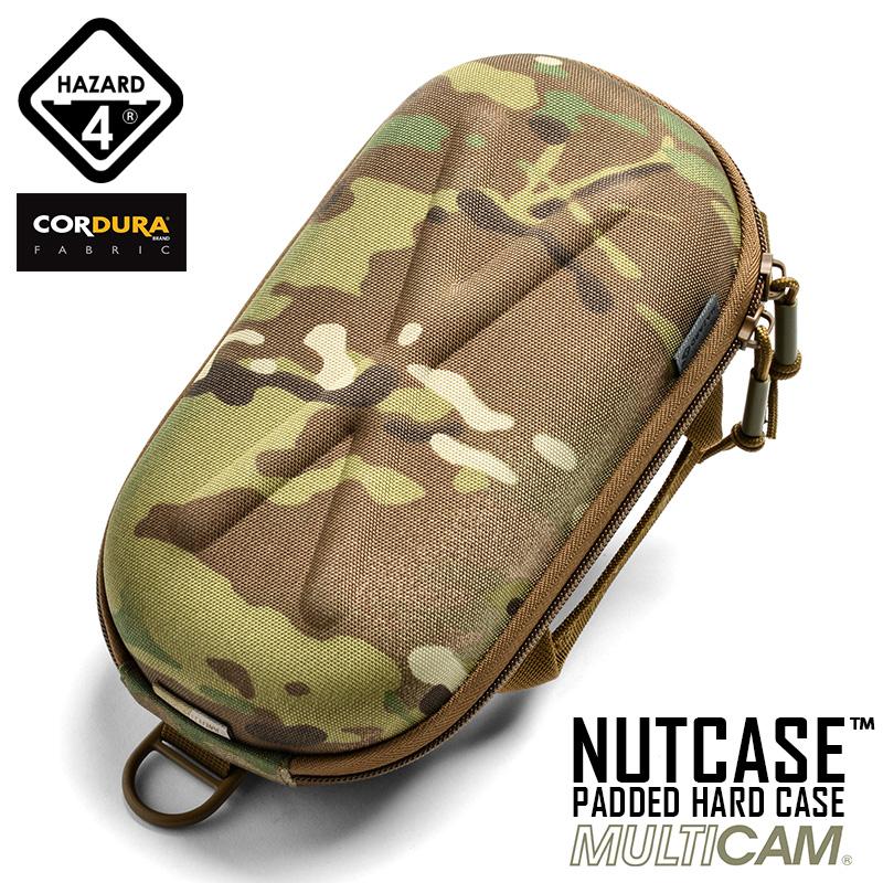HAZARD4 ハザード4 NUTCASE PADDED HARD CASE(ナット パデッド ハードケース) MultiCam