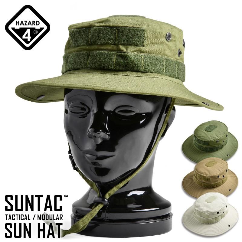 HAZARD4 ハザード4 SUN-TAC TACTICAL/MODULAR SUN HAT (サンテック タクティカル/モジュラー サンハット)
