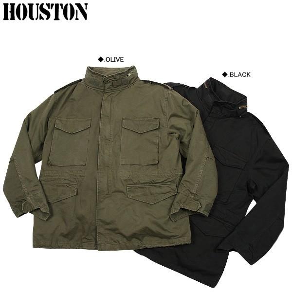 HOUSTON ヒューストン 56550 M-65フィールドジャケット BLACK