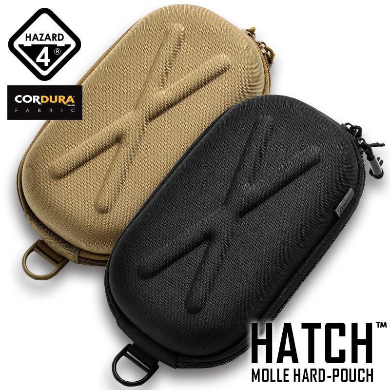 HAZARD4 ハザード4 HATCH MOLLE HARD-POUCH(ハッチ モール ハードポーチ) BLACK/COYOTE