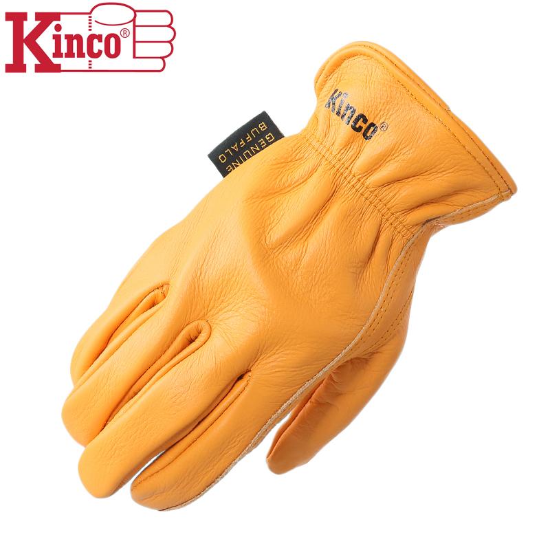 Kinco Gloves キンコグローブ 81 GRAIN BUFFALO LEATHER DRIVER グローブ