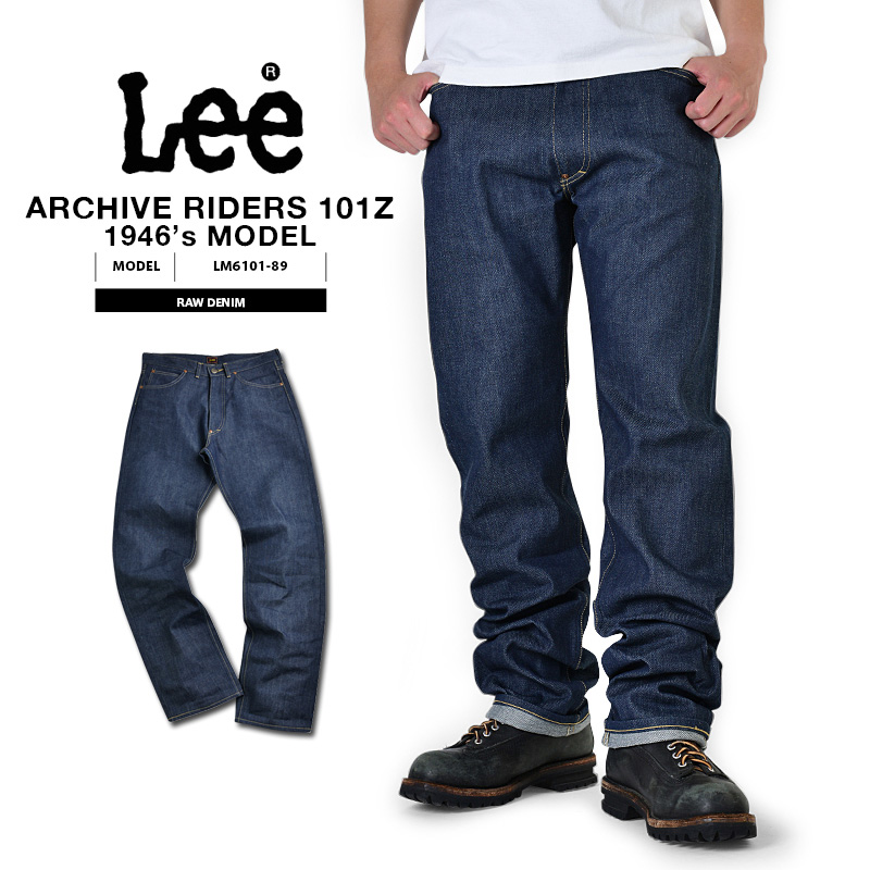 Lee リー ARCHIVE Real Vintage Riders 101Z 1946年復刻モデル