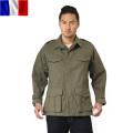 実物 新品 フランス軍 M-47 フィールドジャケット 前期型 コットン製