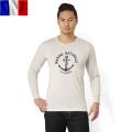実物 新品 イタリア軍 アンダーシャツ フランス海軍プリント