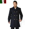 実物 新品 イタリア海軍ウールピーコート