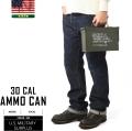 実物 米軍30 CAL AMMO CAN(アンモボックス) USED