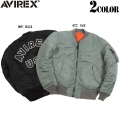 AVIREX アビレックス MA-1 CM LOGO MIL.-J-8279E フライトジャケット