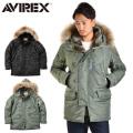 AVIREX アビレックス 6152145 N-3B フライトジャケット COMMERCIAL リアルファー