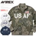 AVIREX アビレックス 6173436 U.S.A.F. 70th. ANNIVERSARY THERMOLITE スタンドジップジャケット