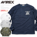 AVIREX アビレックス 6173437 U.S.A.F. 70th. ANNIVERSARY THERMOLITE Tシャツ U.S. AIR FORCE