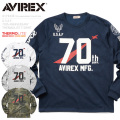 AVIREX アビレックス 6173438 U.S.A.F. 70th. ANNIVERSARY THERMOLITE Tシャツ NUMBERING