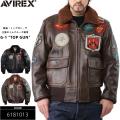 AVIREX アビレックス TOP GUN G-1 レザーフライトジャケット