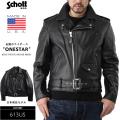 Schott ショット 613US VINTAGE ONESTAR ライダースジャケット BLACK