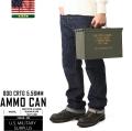 実物 米軍5.56mm AMMO CAN