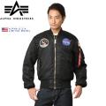 ALPHA アルファ USA 日本未発売 NASA APOLLO MA-1 フライトジャケット