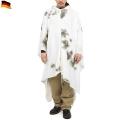 実物 新品 ドイツ軍スノーカモポンチョ