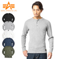 ALPHA アルファ L/S HEAVY THERMAL Tシャツ