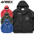 AVIREX アビレックス 6172132 ACTIVE MILITARY フード ジャケット