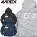AVIREX アビレックス 6173411 STENCIL STITCHING スウェット パーカー