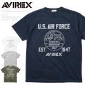 AVIREX アビレックス 6173434 USAF 70th ANNIVERSARY S/S ドライTシャツ