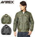 AVIREX アビレックス 6162141 QUILTED ARMY ジャケット