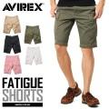 AVIREX アビレックス 6166118 FATIGUE SHORTS ファティーグ ショートパンツ