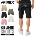 AVIREX アビレックス 6166120 BU-AERO SHORTS エアロ ショートパンツ