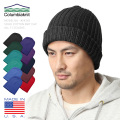 COLUMBIA KNIT製 ソリッドコットンニットキャップ MADE IN USA