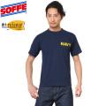 SOFFE ソフィー D0007515 Short Sleeve NAVY Tシャツ drirelease