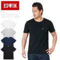 EDWIN エドウィン ET5415 ソフト天竺 H/S クルーネック Tシャツ