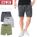 EDWIN エドウィン ES711 JACQUARD CAMO CLIMBING SHORTS ジャカードカモクライミングショーツ