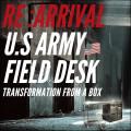 実物 新品 米軍 US.ARMY(米陸軍)フィールドデスク