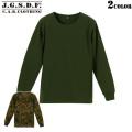 C.A.B.CLOTHING J.S.D.F. 自衛隊 サーマル長袖Tシャツ