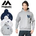MAJESTIC マジェスティック ニューヨーク・ヤンキース ロゴパーカー MM06-NYK-0132