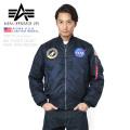 ALPHA USA アルファ 日本未発売 TA0115 NASA 100th MISSION MA-1フライトジャケット
