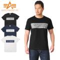 ALPHA アルファ TC1126 S/S プリント Tシャツ ALPHA FORCE STENCIL