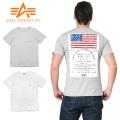 ALPHA アルファ TC1158 S/S ポケット Tシャツ BLOOD CHIT バックプリント
