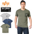 ALPHA アルファ TC1167 S/S TACTICAL ポケット Tシャツ