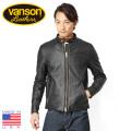 VANSON バンソン B シングルライダースジャケット