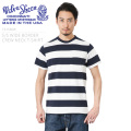 Velva Sheen ベルバシーン MADE IN USA 161560W S/S ワイドボーダー クルーネックTシャツ