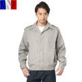 実物 新品 フランス軍ショートウィンドジャケット グレー