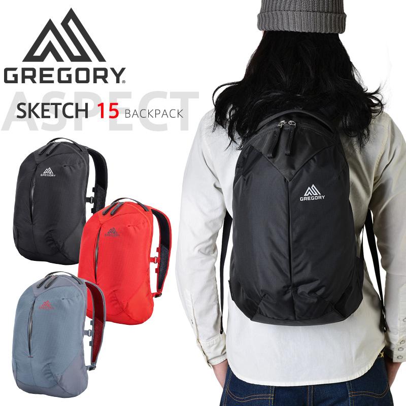 GREGORY グレゴリー SKETCH(スケッチ)15 バックパック 3色
