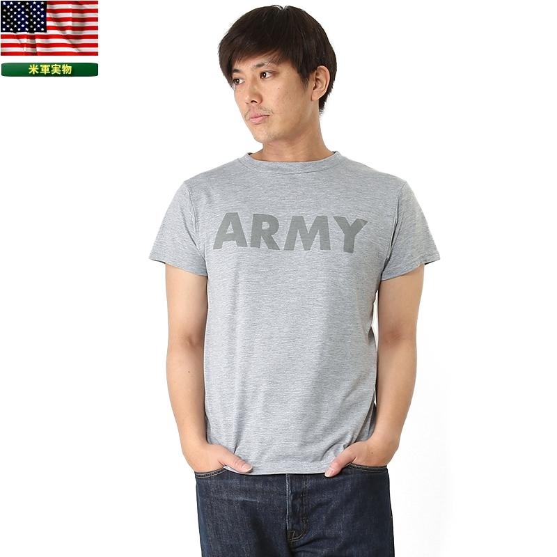 新品 米軍放出品 IPFU ARMY Tシャツ バックプリント入り